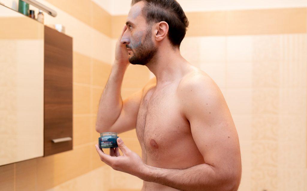 Mască de față si gel de curățare pentru față Biotherm Homme